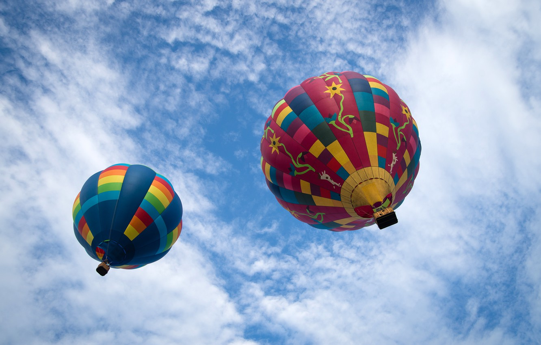Обои balloon, Ball, аэростат, шар, aviation, воздушный. Разное foto 6