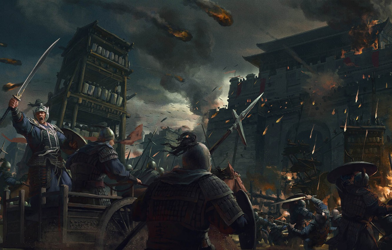Wallpaper China Stanton Feng Xianyang Stronghold Total War