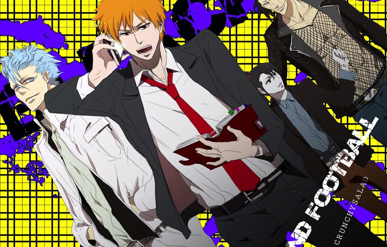 Photo wallpaper style, guys, Bleach, Bleach, characters