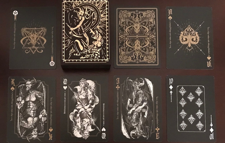 Photo wallpaper card, fiction, mystic