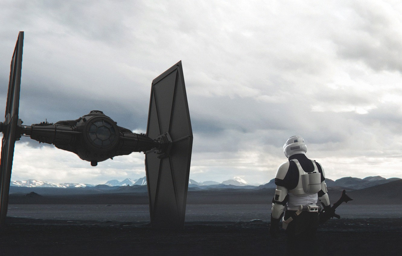 Wallpaper Fighter Star Wars Soldiers Fighter Concept Art