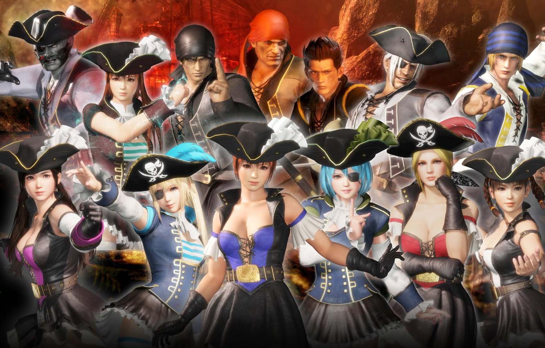 Wallpaper Girls Pirates Guys Dead Or Alive 6 Images For Desktop