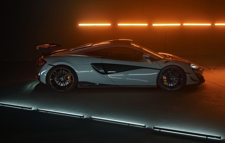 Photo wallpaper McLaren, side view, Novitec, 2020, 620R