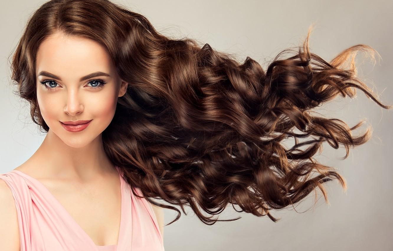 Wallpaper Girl Smile Hairstyle Fashion Curls Girls Curls Hair Model Makeup Sofia Zhuravets Images For Desktop Section Devushki Download