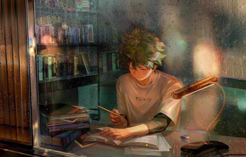 Photo wallpaper guy, My Hero Academia, Boku No Hero Academy, Midori Isuku, My Hero Academy