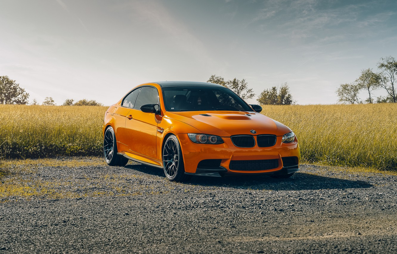 Photo wallpaper design, BMW, car, the front, E92 M3