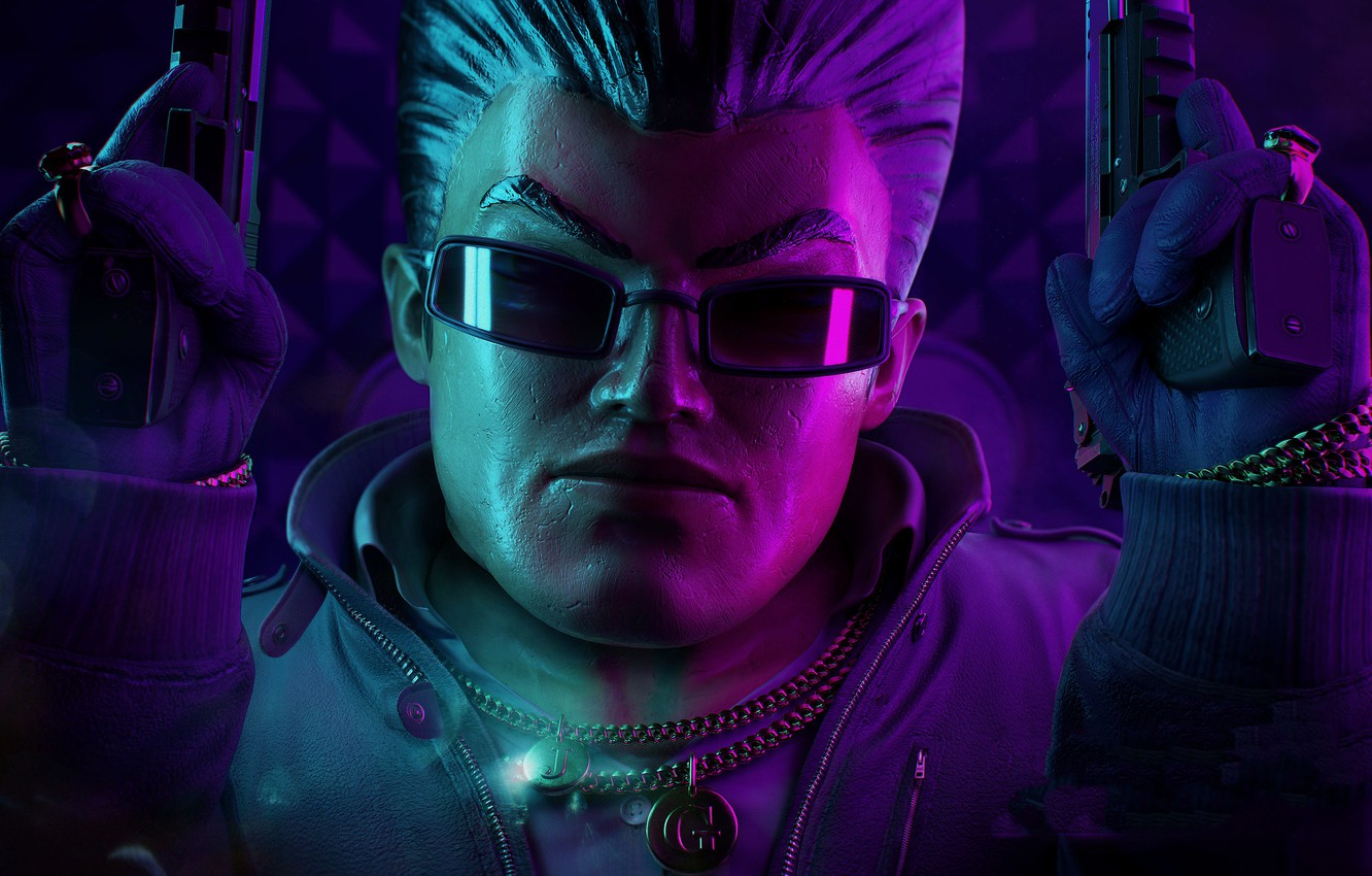 Wallpaper Man Glasses Chain Saints Row The Third Images For Desktop Section Igry Download