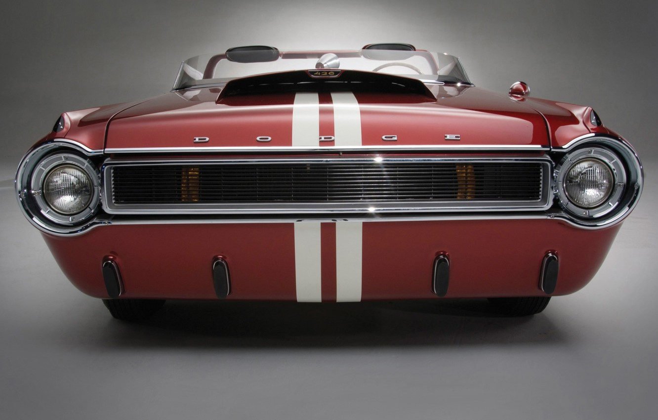 Photo wallpaper Roadster, Dodge, Car, Front