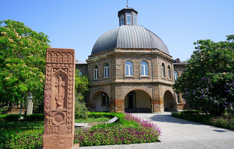 Photo wallpaper Church, Temple, Armenia, Armavir