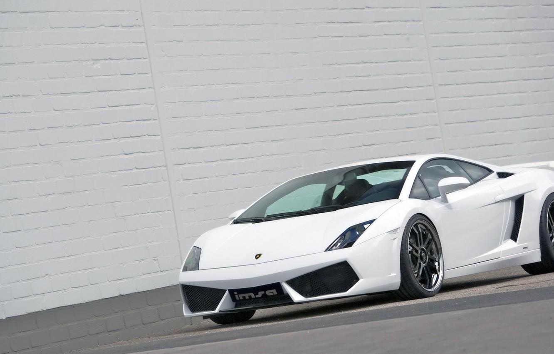 Photo wallpaper 2008, sports car, LP560, Lamborghini Gallardo, sports car, IMSA