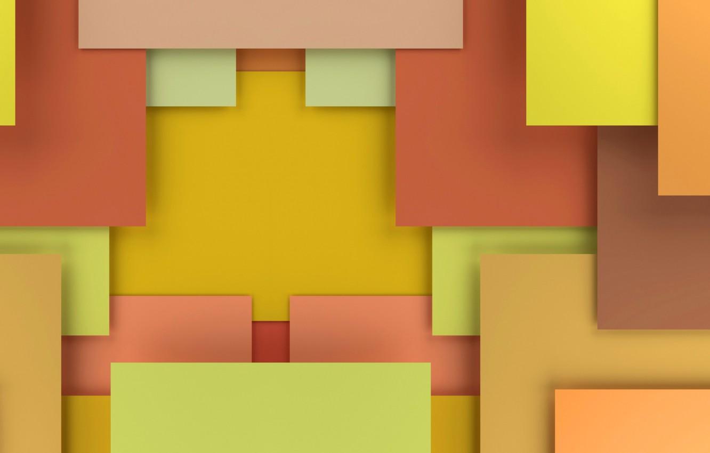 Photo wallpaper yellow, background, corners, colorful, form, figure, yellow, colorful, fon, edge, figures, corners