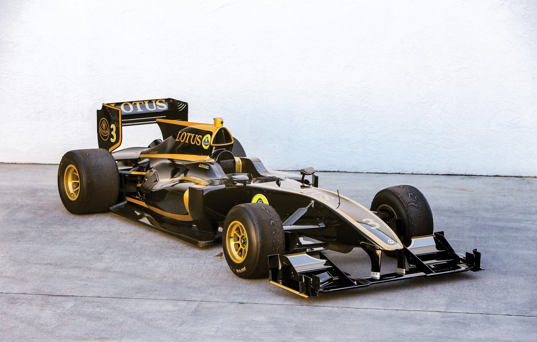 Photo wallpaper Lotus, Formula 1, Exos, T125, 2010-11