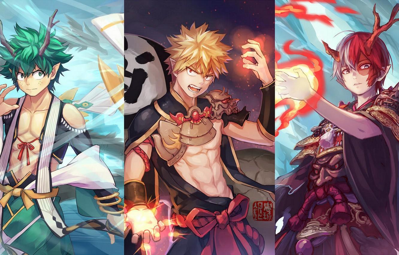 Wallpaper Collage My Hero Academia Boku No Hero Academy