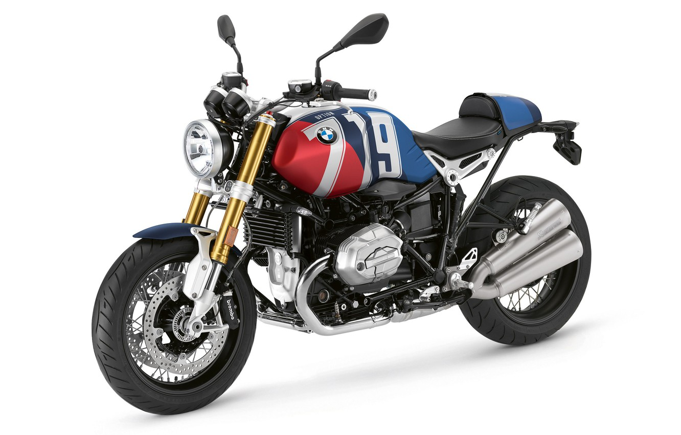 Photo wallpaper Motorcycle, BMW R nineT, Colors