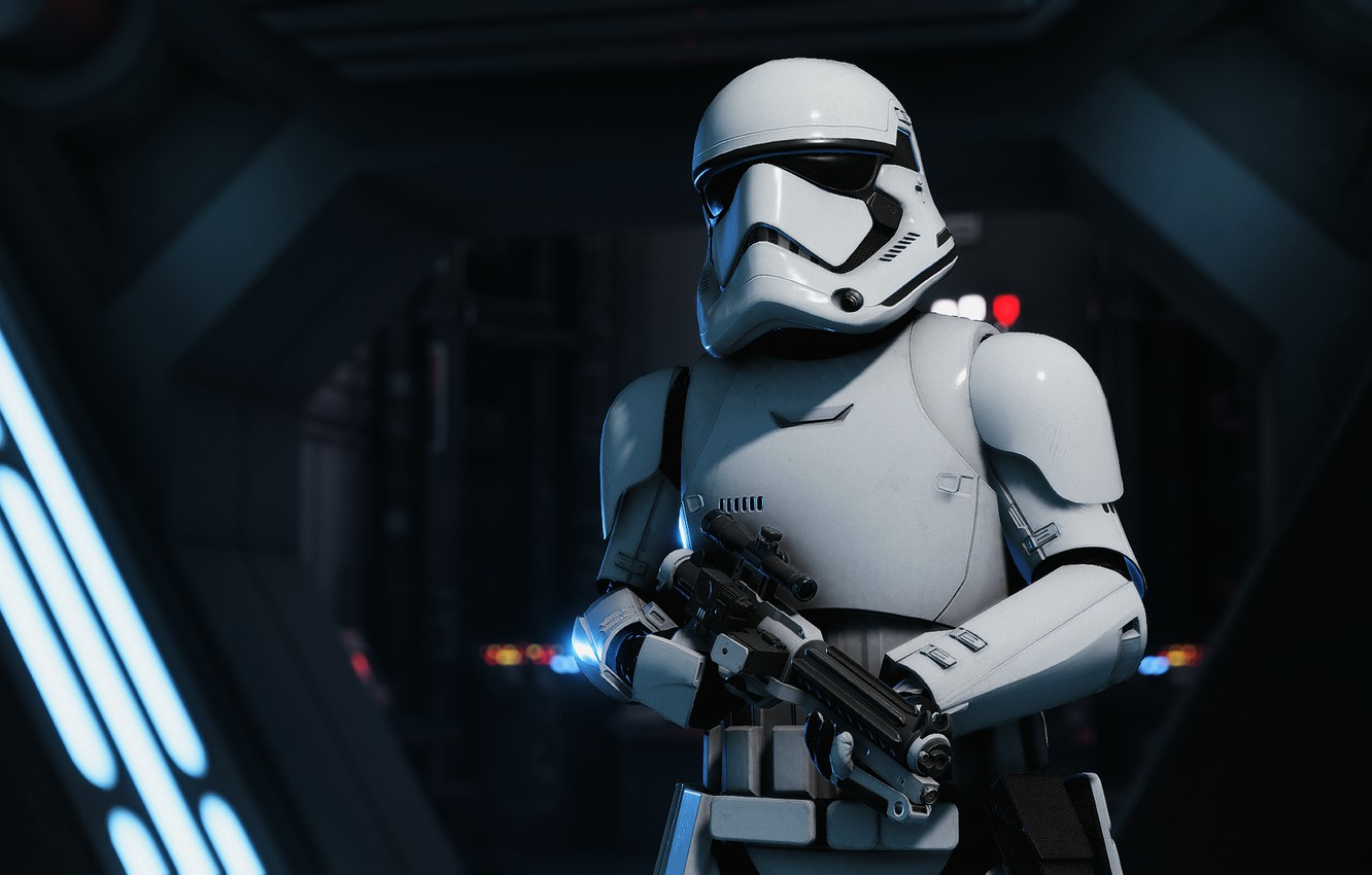 Wallpaper Star Wars Stormtrooper Battlefront 2 Images For
