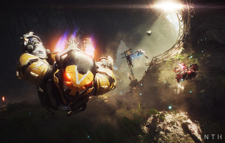 Photo wallpaper Game, Electronic Arts, Anthem, E3 2018