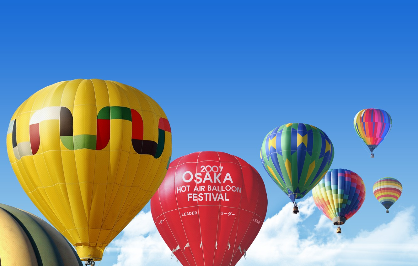 Photo wallpaper sky, photography, clouds, sports, festival, leisure, hot air balloon, my works