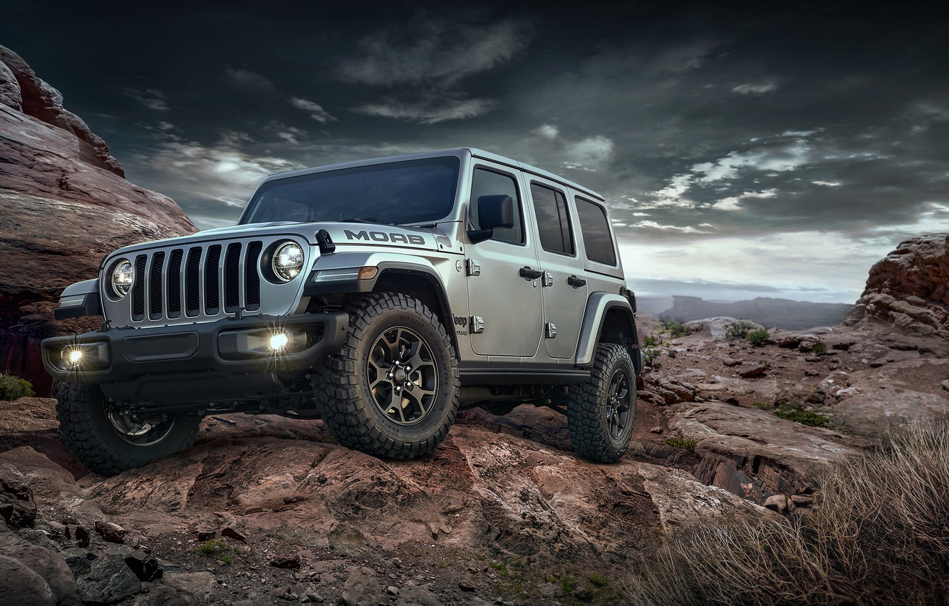 Photo wallpaper 2018, Wrangler, Jeep, Unlimited, Moab Edition