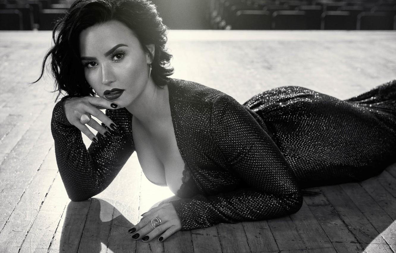 Photo wallpaper pose, singer, Demi Lovato