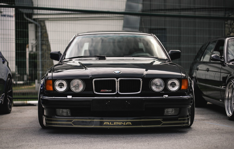 Photo wallpaper BMW, ALPINA, E32, B12 5.0