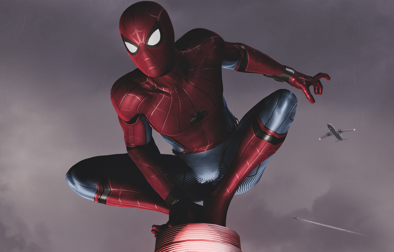 Photo wallpaper New York, Peter Parker, Spider Man, PS4, Marvel's Spider-Man