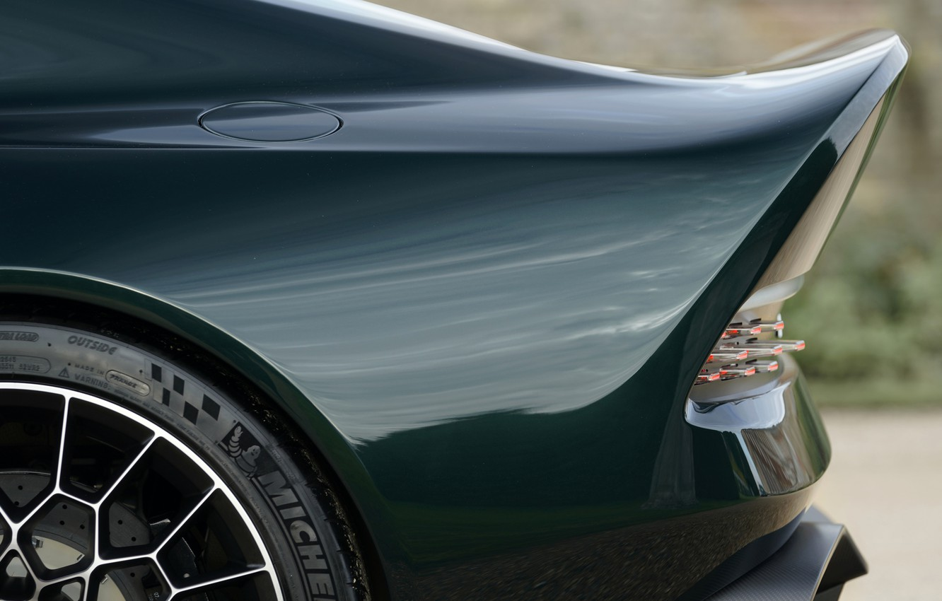 Photo wallpaper Aston Martin, coupe, V12, the rear part, Victor, 2020