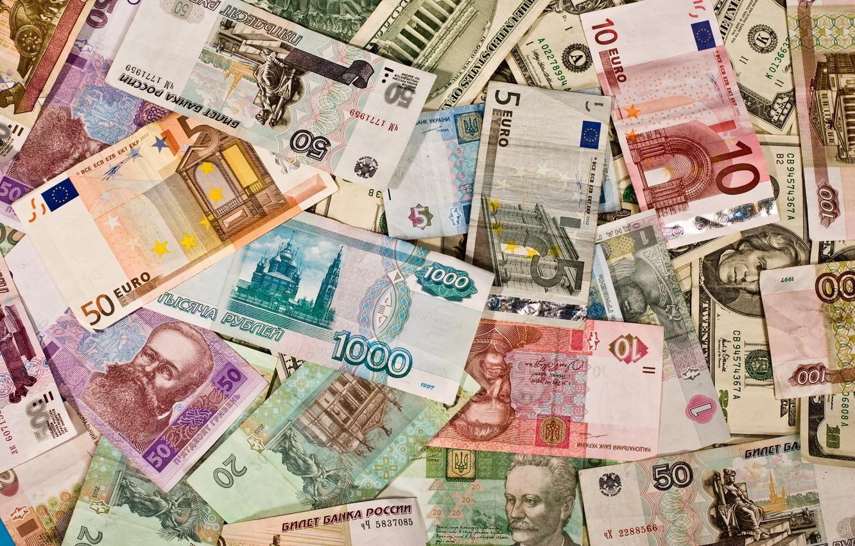 Photo wallpaper money, currency, bill