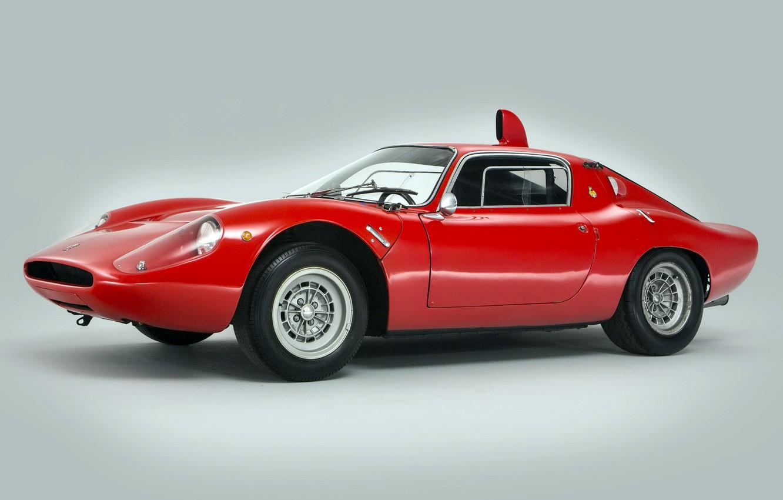 Photo wallpaper 1966, Classic car, Abarth, Sports car, Abarth OT 1300