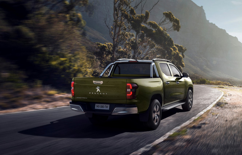 Photo wallpaper back, Peugeot, pickup, 2020, Country trek, Changan Kaicene F70