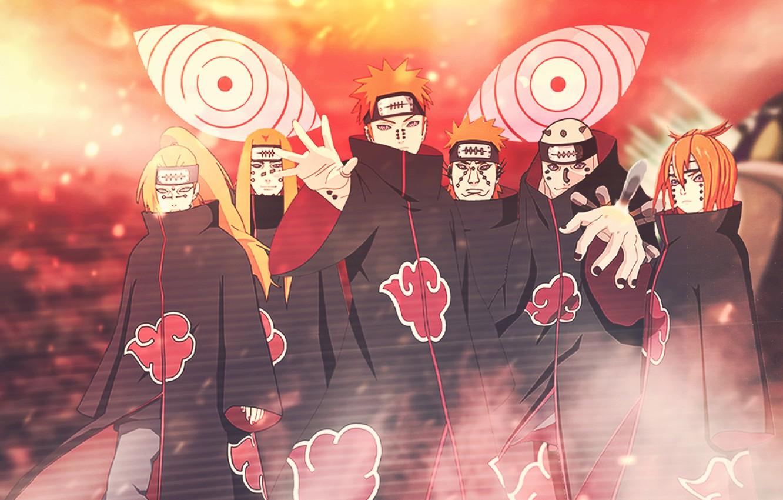 Photo wallpaper naruto, naruto, akatsuki, Payne, akatsuki, pain