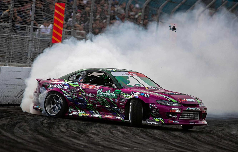Photo wallpaper drift, s15, formula drift, silvia s15, 2jz power, Silvia • Nissan • Nissan Silvia, forrest …