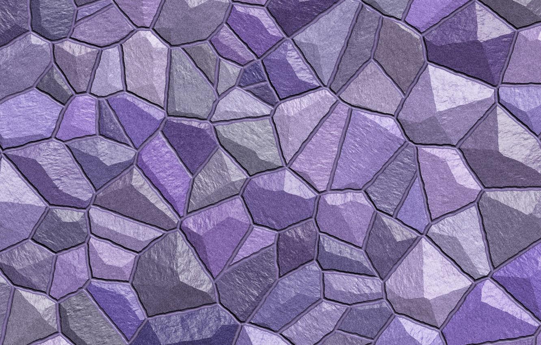 Photo wallpaper wall, stone, color