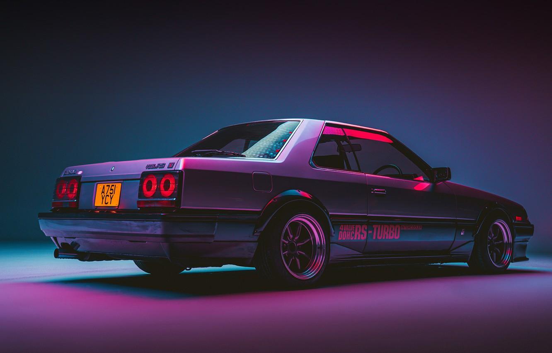 Photo wallpaper Nissan, Coupe, Skyline, Turbo, R30, Dohc