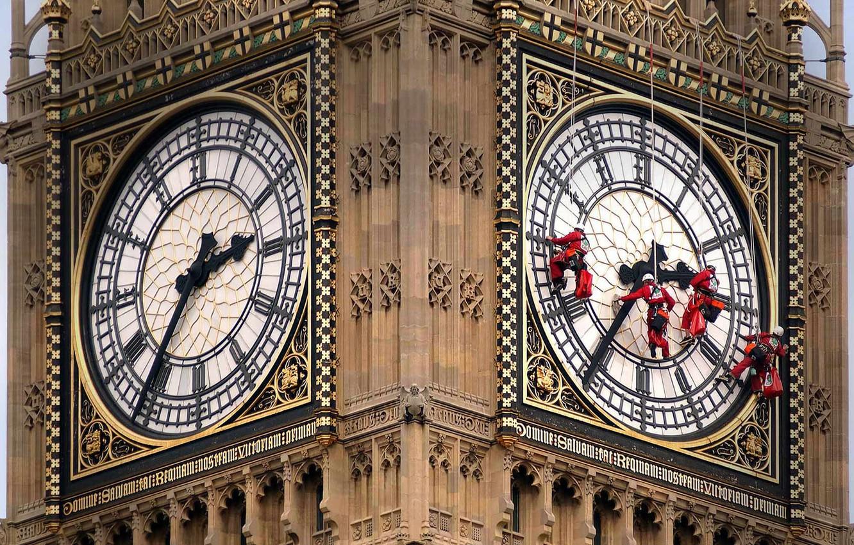 Photo wallpaper watch, England, London, Big Ben