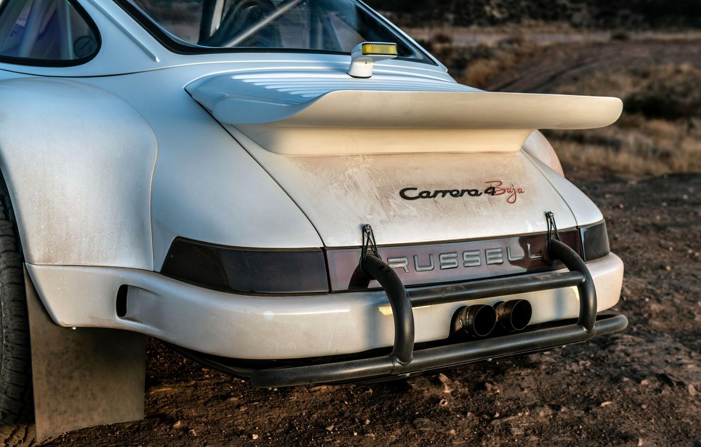 Photo wallpaper dust, wing, 911, Porsche, bumper, 964, feed, 2019, 911 Baja Prototype, Russell Built Fabrication