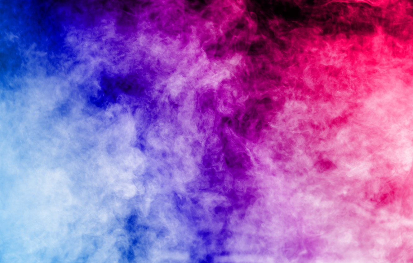 Photo wallpaper background, smoke, color, colors, colorful, abstract, rainbow, smoke, background