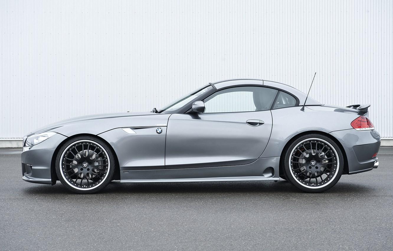 Photo wallpaper roof, grey, BMW, profile, Roadster, Hamann, 2010, E89, BMW Z4, Z4