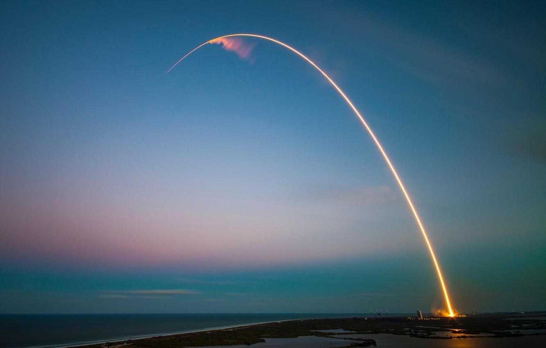 Wallpaper Rocket Spacex Falcon Heavy Images For Desktop