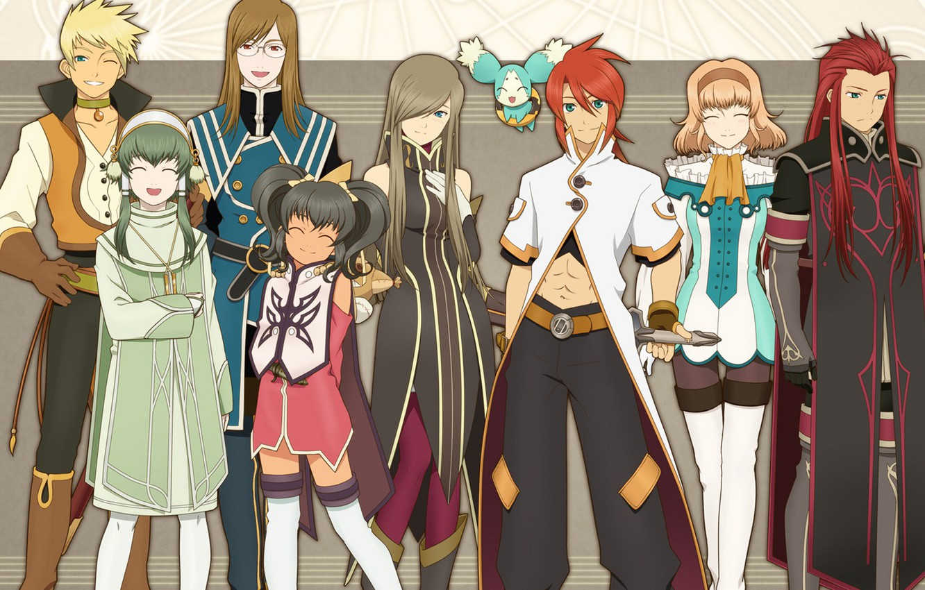 Wallpaper Anime Art Characters Tales Of The Abyss Images For