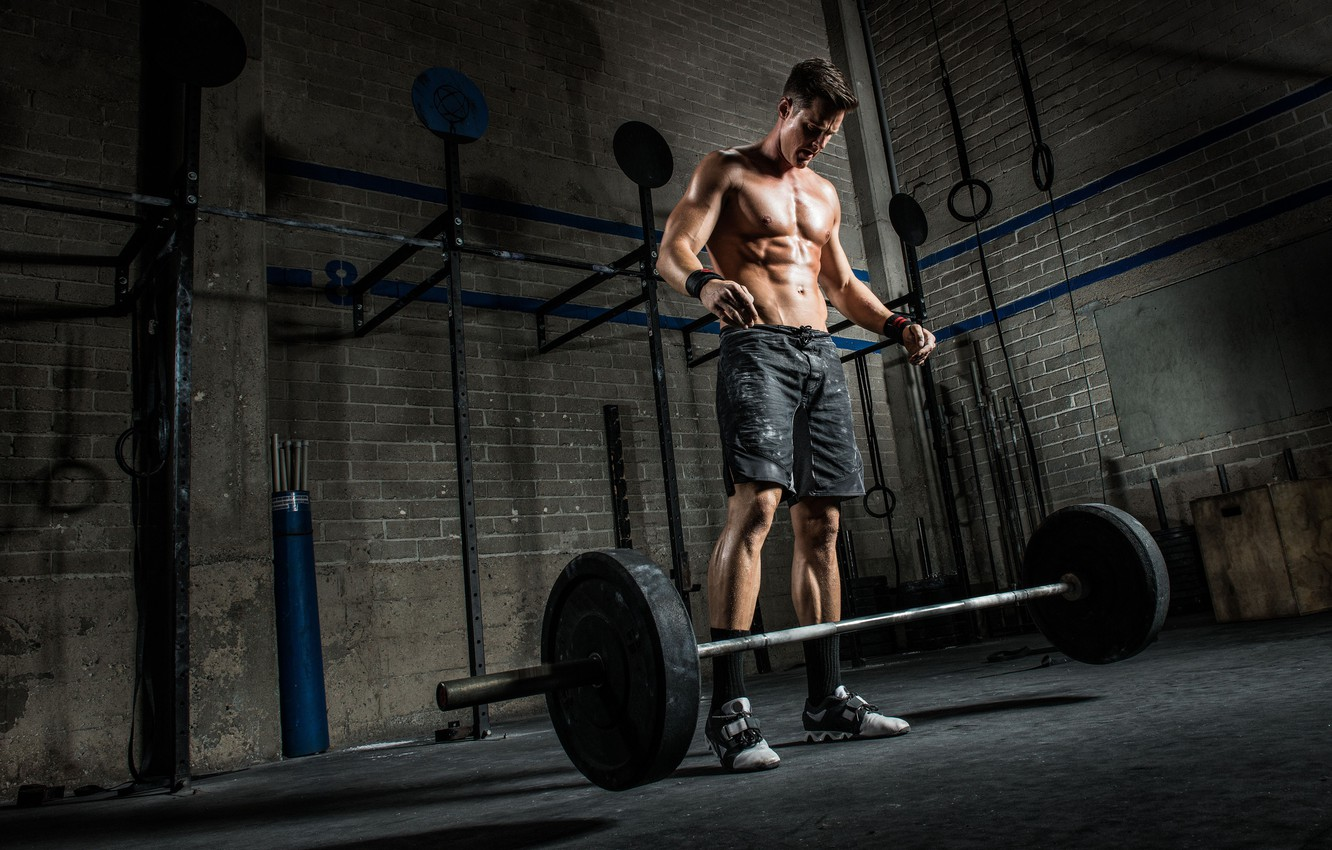 Photo wallpaper muscle, press, pose, athlete, workout, gym, fitness, gym, bodybuilder, abs, crossfit, bodybuilder