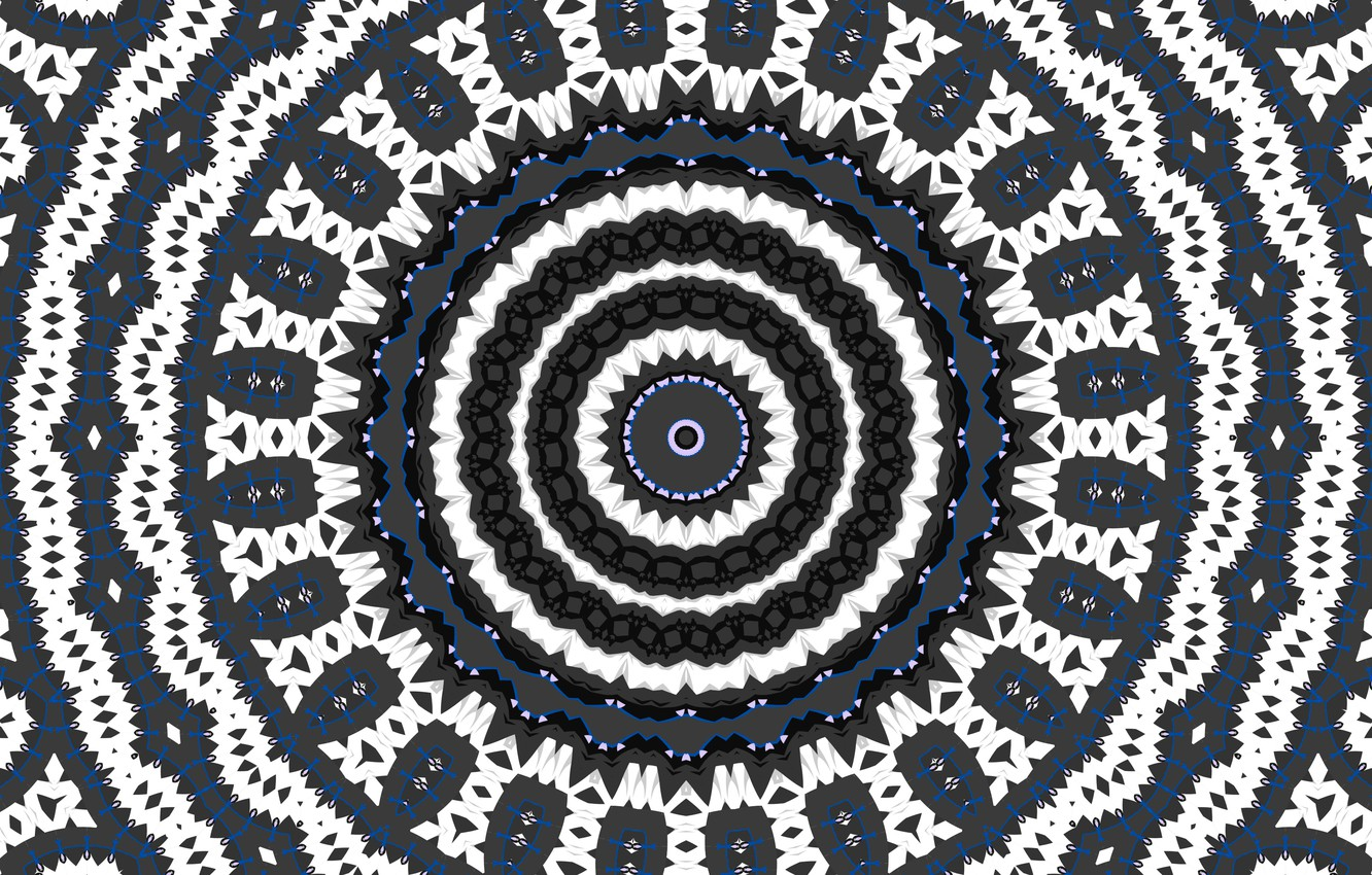 Wallpaper Pattern Color Round Kaleidoscope Images For