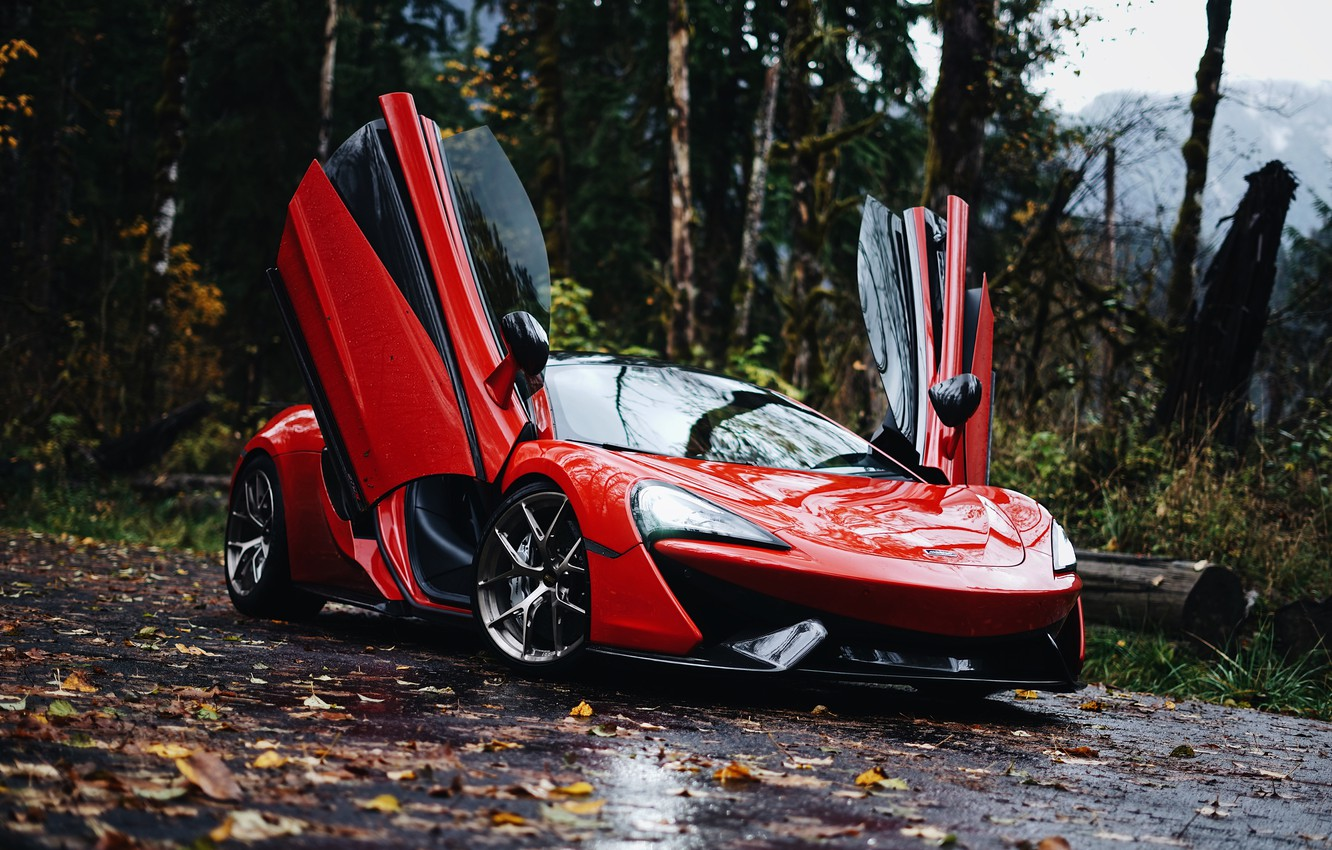 Photo wallpaper McLaren, 570S, McLaren 570S