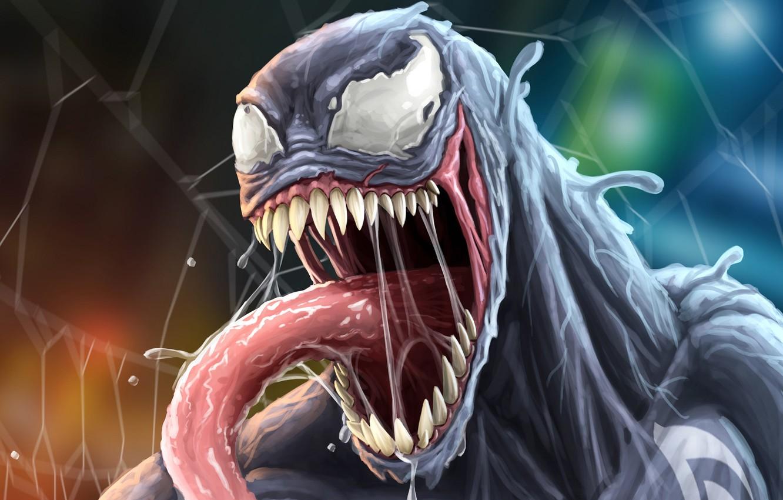 Wallpaper Language Web Mouth Comics Anger Venom Venom