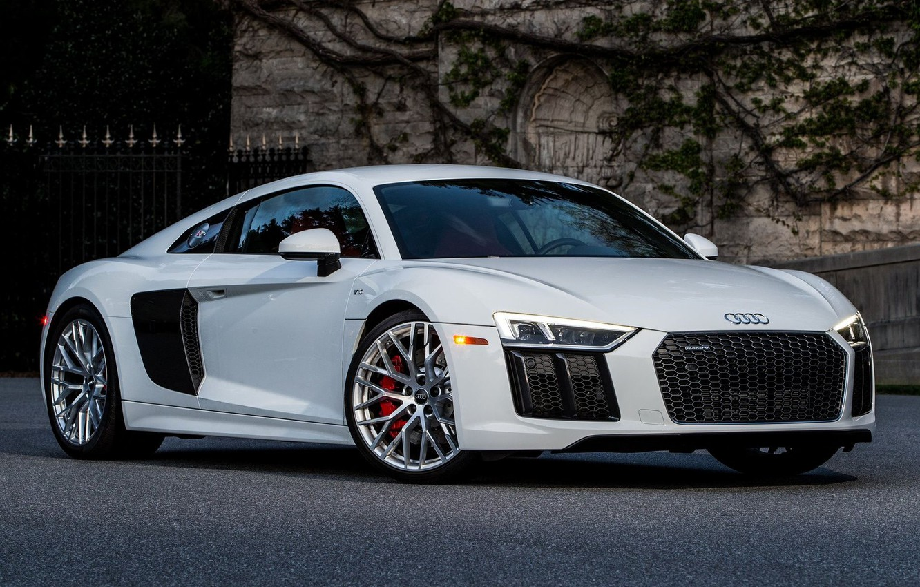 Photo wallpaper coupe, Germany, Audi R8, sports car, mid-engined all-wheel drive
