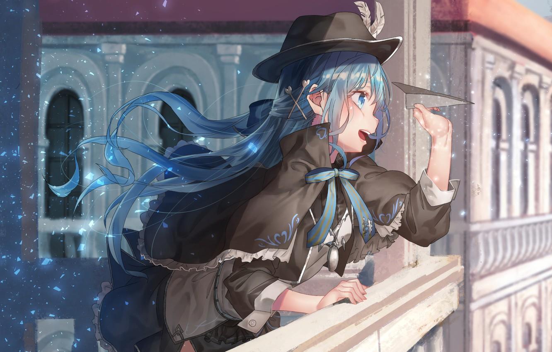 Photo wallpaper Girl, Fragments, Anime, Shine