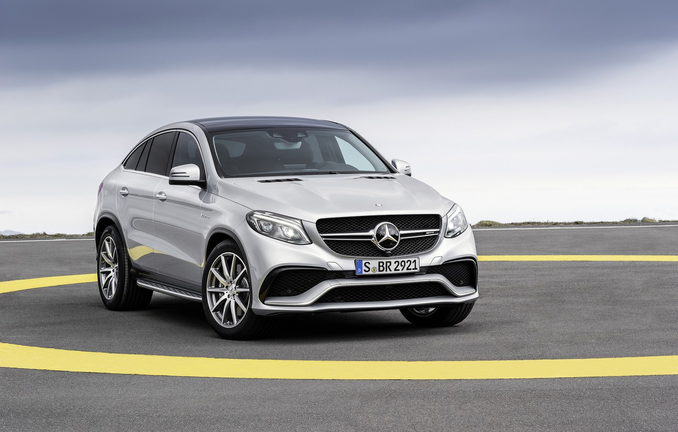 Photo wallpaper Mercedes, AMG, Coupe, 2016, 4Matic, GLE63