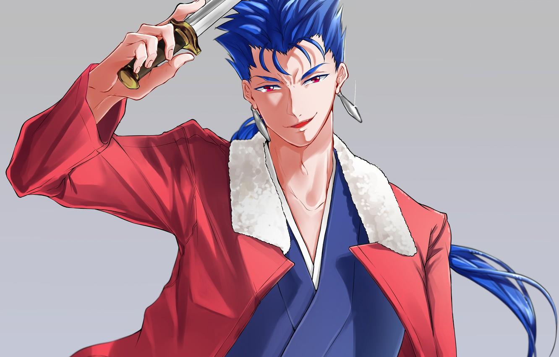 Wallpaper Lancer Fate Stay Night Fate Grand Order Ryougi Shiki