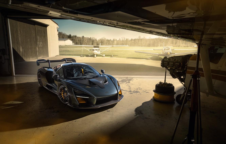 Photo wallpaper McLaren, supercar, Senna, Novitec, 2020