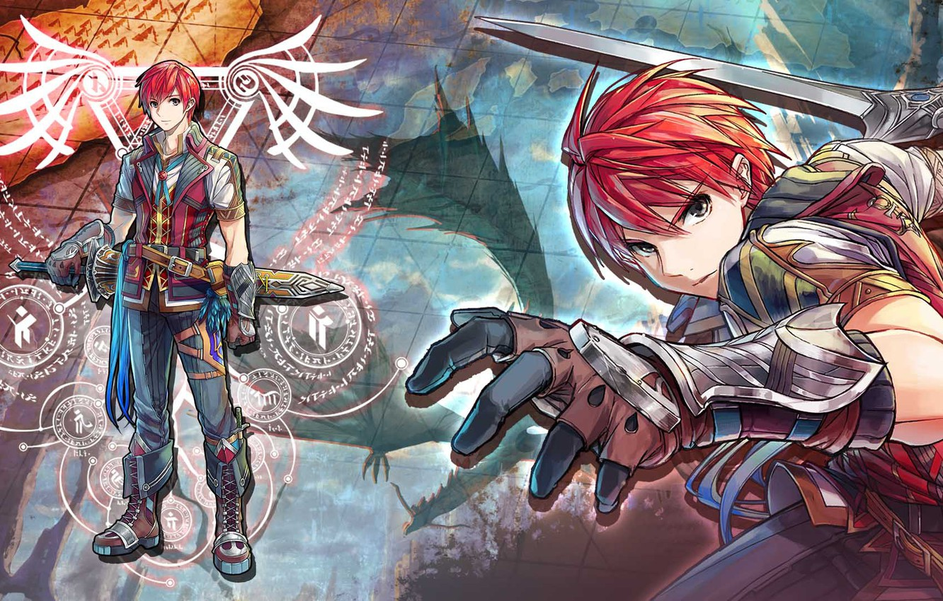 Wallpaper Sword Warrior Guy Ys Viii Lacrimosa Of Dana Images