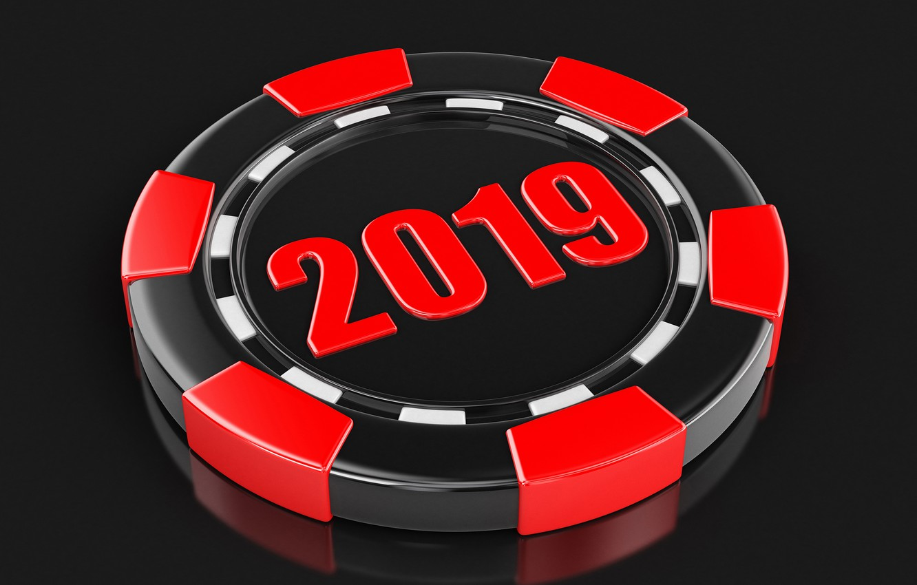 Photo wallpaper New year, the trick, 2019